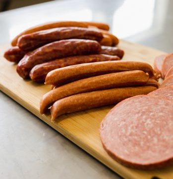We have a variety of fresh in-store made sausages